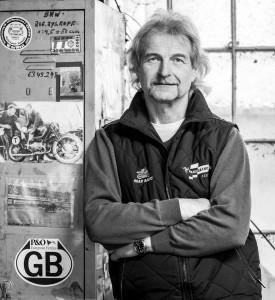 Hinrich Hinck - Organisator Fischereihafen-Rennen (Foto Sabrina Adeline Nagel)